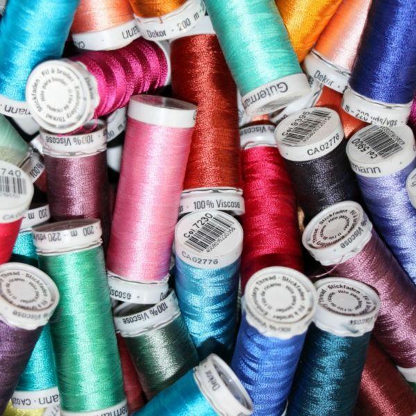Gutermann Machine Embroidery Thread Sulky 100 Rayon No 40 200